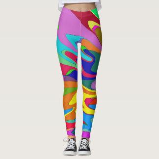 Colorful Wind Leggings