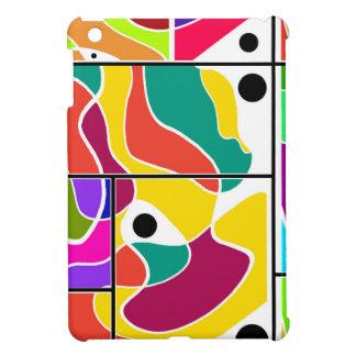 Colorful windows iPad mini case
