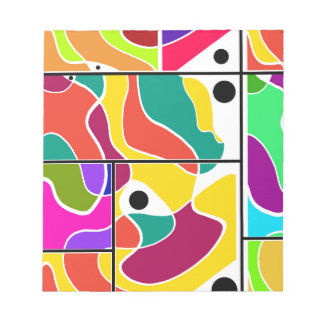 Colorful windows notepads