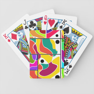 Colorful windows poker deck