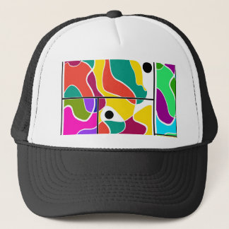 Colorful windows trucker hat