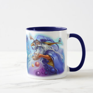 Colorful wizard spell coffee mug
