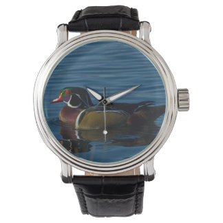 Colorful wood duck watch