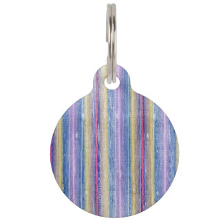 colorful wood gifts pet name tag