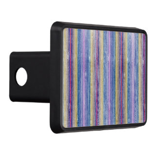 colorful wood gifts trailer hitch cover
