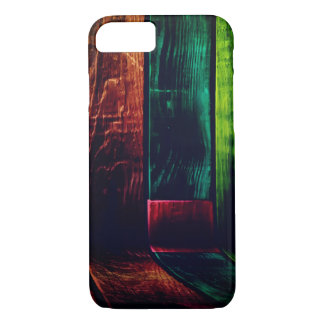 Colorful Wood Grain Wall Case-Mate iPhone Case
