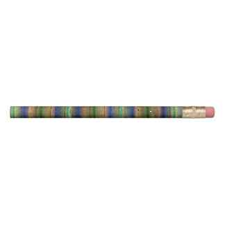 colorful wood wall vintage pencil