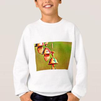 Colorful Wooden Chimes Sweatshirt