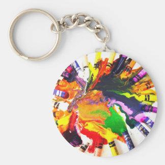 Colorful World Keychain