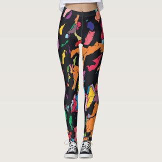 Colorful World Leggings