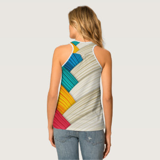 Colorful Wrapped Tank Top