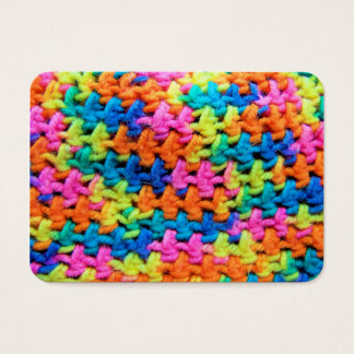Colorful Yarn Business Card