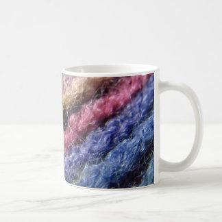 Colorful Yarn Rainbow Coffee Mug