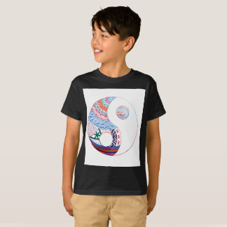 Colorful ying yang,spiritual T-Shirt