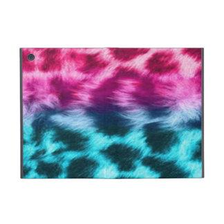 colorful zebra fur powis ipad case