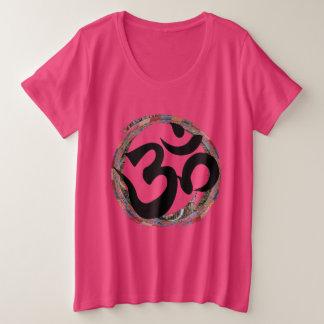 Colorful Zen Ohm Plus Size T-Shirt