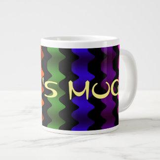 Colorful Zig Zag Jumbo Mug