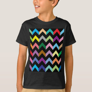 Colorful zigzag pattern T-Shirt