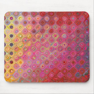 Colorfull Artistic Retro Pattern Mousepad