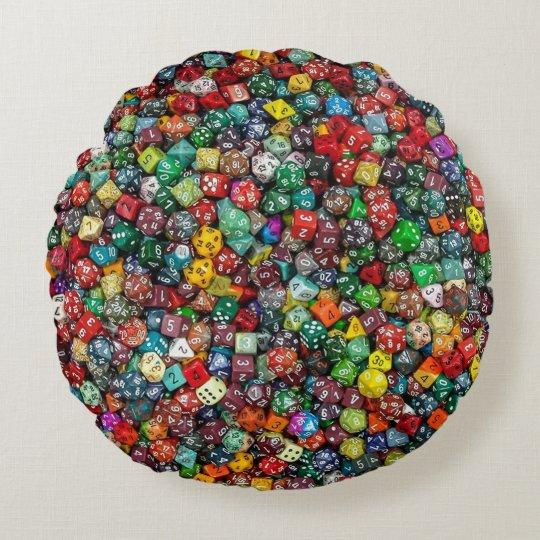 Colorfull Dice Cushion