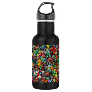 Colorfull Dice Water Bottle