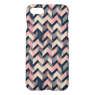 Colorfull Geometric Abstract Pattern Glossy Case