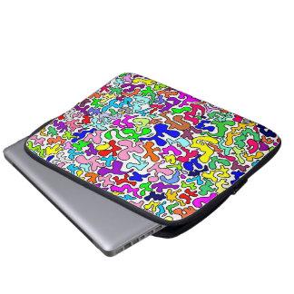 Colorfull kozyavki by ilya konyukhov (c) laptop computer sleeve