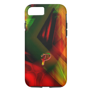 Colorfull Monogram iPhone 7 case