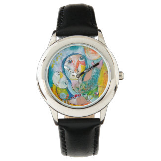Colorfull of paint on your watch