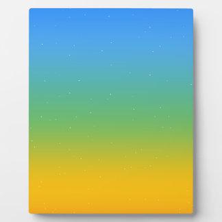 Colorfull Plaque