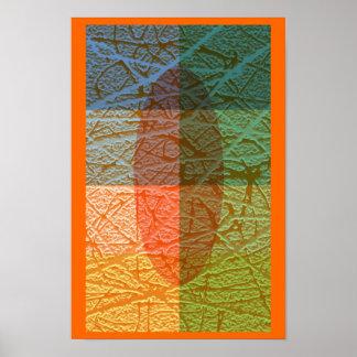 Colorfull Skin Poster