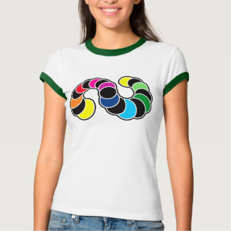 Colorfully bug moon phases T-Shirt
