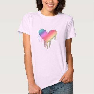 ColorfulMeltingHeart T-shirt