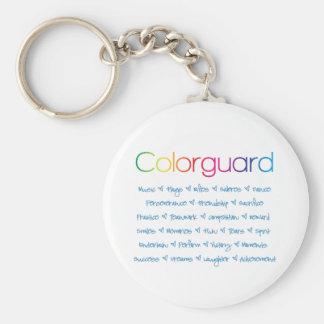 Colorguard Keychain