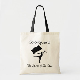 Colorguard; The Sport of the Arts Tote Bag