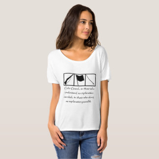 Colorguard Understanding Front T-Shirt
