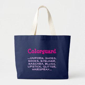 Colorguard, ...uniform, shoes, socks, eyeliner,... large tote bag