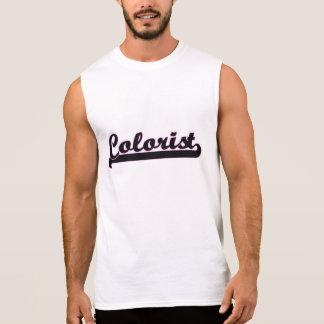 Colorist Classic Job Design Sleeveless Shirts