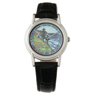Colorized Lewis and Clark Expedition Nickel Watch
