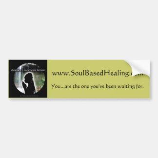 colorlogo, www.SoulBasedHealing.com, You...are ... Bumper Sticker