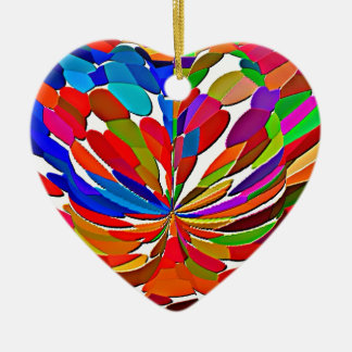 COLORmania LOTUS Abstract ColorSHOW Ceramic Ornament