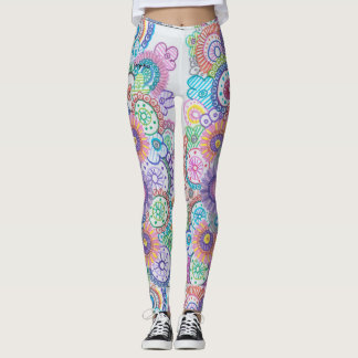 colorpetal leggings