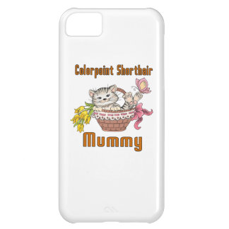 Colorpoint Shorthair Cat Mom iPhone 5C Cover