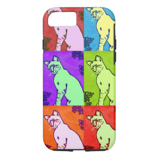 Colorpoint Siamese Cat Painting - Phone Case