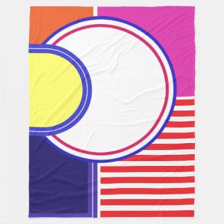 Colors against depression AlaMode Fleece Blanket