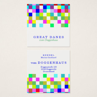 Colors against depression! square business card