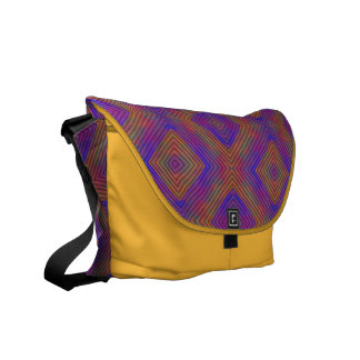 Colors and Diamonds Commuter Bags