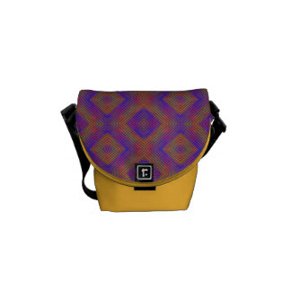 Colors and Diamonds Courier Bags