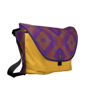 Colors and Diamonds Messenger Bags