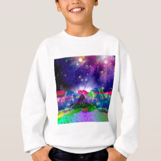 Colors and stars light up the night sweatshirt